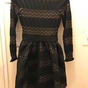 Maje Black Dress Size T1 NWT